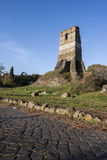 Old Roman ruin in Via Appia Antica (Rome, Italy) Royalty Free Stock Photo