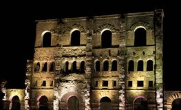 Old Roman theater Royalty Free Stock Images