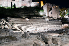 Old Roman theater Royalty Free Stock Photography