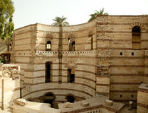 Free Old Roman Tower Of Babylon In Coptic Area Of Cairo Royalty Free Stock Images - 13503309