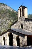 Old romanesque chapel in Andorra Stock Photo