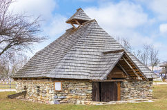 Old romanian house Stock Image