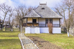 Old romanian house Royalty Free Stock Images