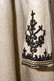 Old romanian peasant overcoat sleeve detail Royalty Free Stock Photos