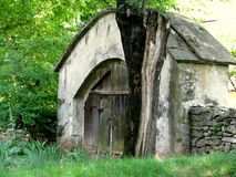 Old Romanian traditional gate Royalty Free Stock Photography