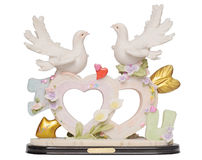Old romantic statuette Royalty Free Stock Photo