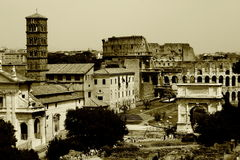 Old Rome again stock photography