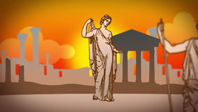 Old rome 01 stock footage
