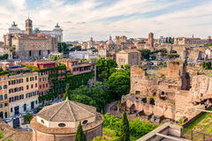 Old Rome cityscape Royalty Free Stock Images