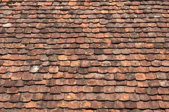 Old rood tiles Royalty Free Stock Photos