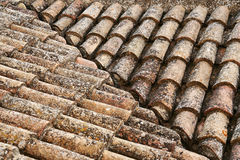 Old roof Royalty Free Stock Image
