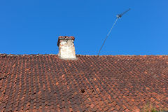 Old roof. Stock Images