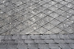 Old roof detail royalty free stock images