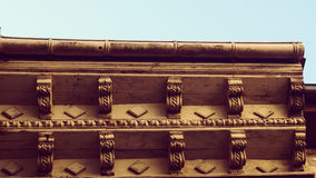 Old Roof detail Architecture Royalty Free Stock Images