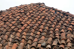 Old roof made of shingles Royalty Free Stock Photography
