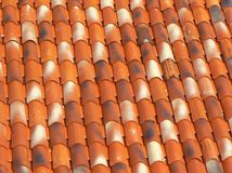 Old roof in Motovun Royalty Free Stock Photography