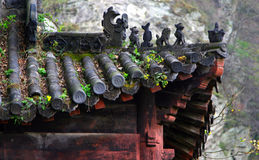 Free Old Roof Of Chinese Temple, Wudang Mountains, China Stock Images - 78029194