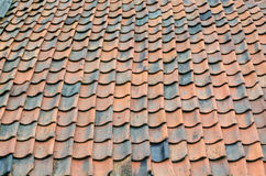 Old roof renovation Royalty Free Stock Photos