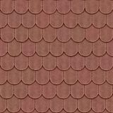 Old roof seamless generated texture Stock Images