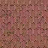 Old roof seamless generated texture Royalty Free Stock Images