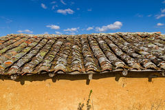 Old Roof Shed Adobe Royalty Free Stock Photos