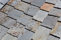 Old roof of stones Stock Photography