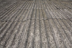 Old roof. Texture,  slate fragment Royalty Free Stock Image