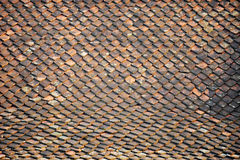 Old roof tile Royalty Free Stock Images