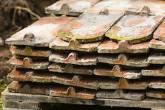Old roof tile Stock Photography