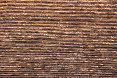Old roof tile texture Royalty Free Stock Photos