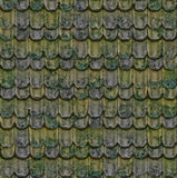 The old roof tiles. Stock Image