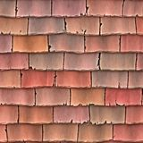 Old roof tiles Stock Photos