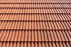 Old roof tiles as a background Royalty Free Stock Photo