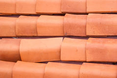 Old roof tiles pattern Royalty Free Stock Photo