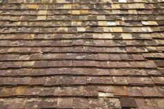 Free Old Roof Tiles Texture. Abstract Background Stock Image - 177406181