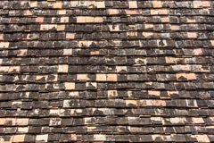 Old roof tiles texture Stock Photo