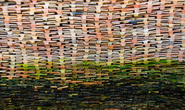 Old Roof tiles Stock Photography