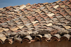 Old roof Stock Image