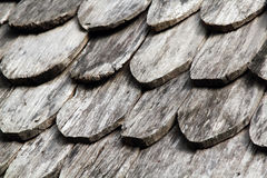 Old roof wood Stock Photography
