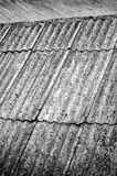 Old roofing slate texture Stock Image