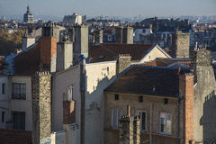 Old roofs and buildings in France Stock Image
