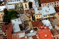 Old roofs Royalty Free Stock Photo