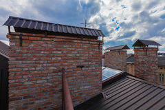 Old roofs Stock Photography