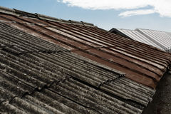 Old roofs Royalty Free Stock Photography