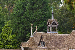 Old Rooftop. Nineteenth century stable rooftop in Wiltshire UK Stock Image