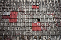 Old rooftop Royalty Free Stock Image
