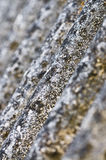 Old rooftop texture. Close up on a rooftop texture Stock Photography