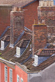 Old Rooftops Royalty Free Stock Photos