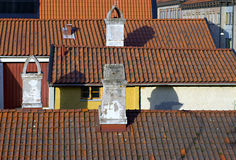 Old rooftops Stock Photography