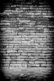 Old room with a brick wall and floor Royalty Free Stock Photo
